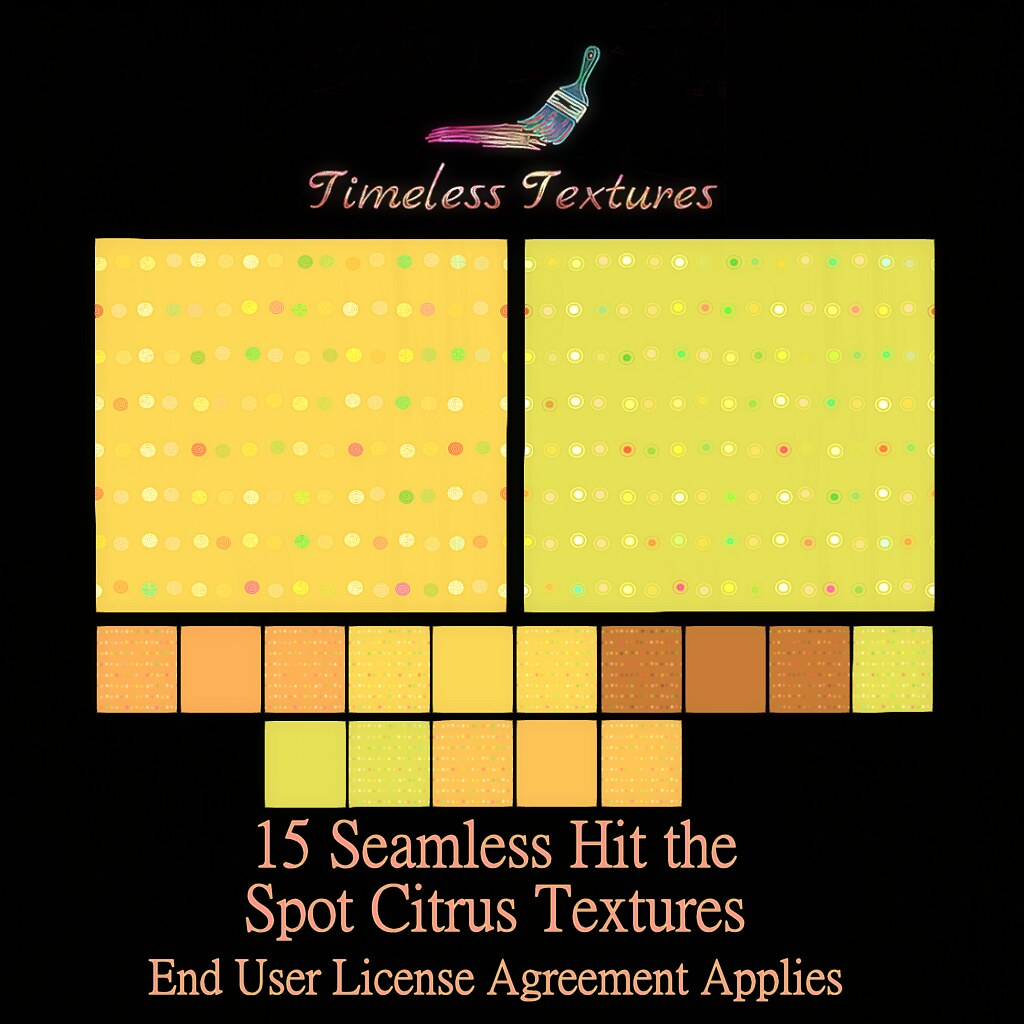 TT 15 Seamless Hit the Spot Citrus Timeless Textures