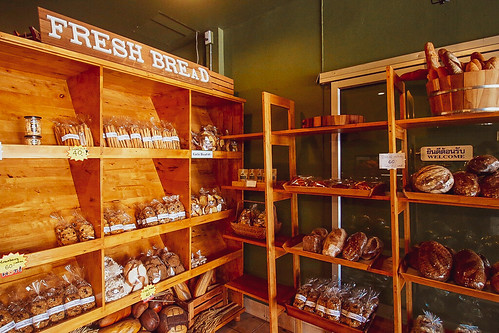 At bakery Phuket