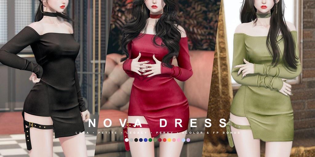 cheezu. nova dress x kustom9