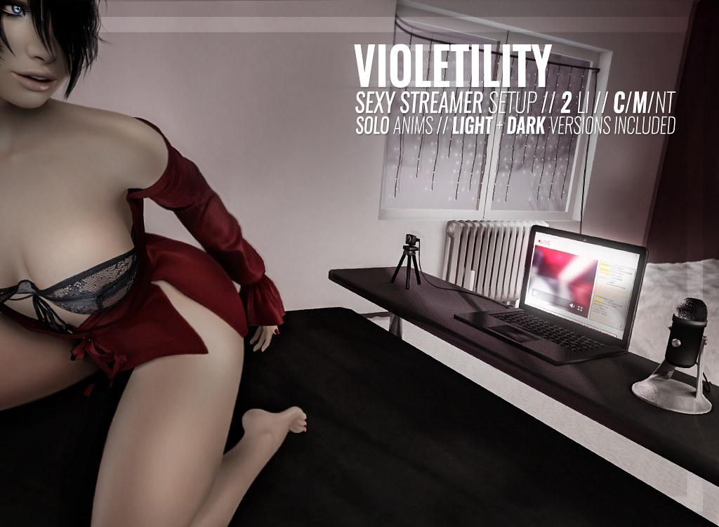 Violetility – Sexy Streamer Set