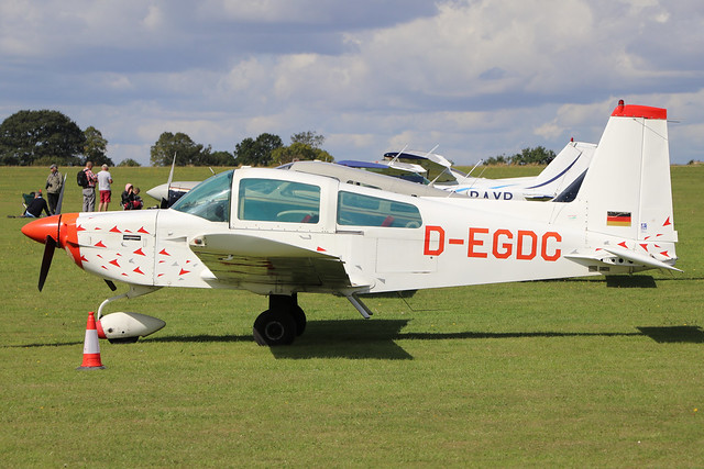 D-EGDC  -  Grumman American AA-5B Tiger c/n AA5B-0728  -  EGBK 1/9/19
