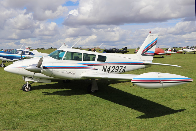 N4297A  -  Piper PA-39-160 Turbo Twin Comanche B c/n 39-114  -  EGBK 1/9/19