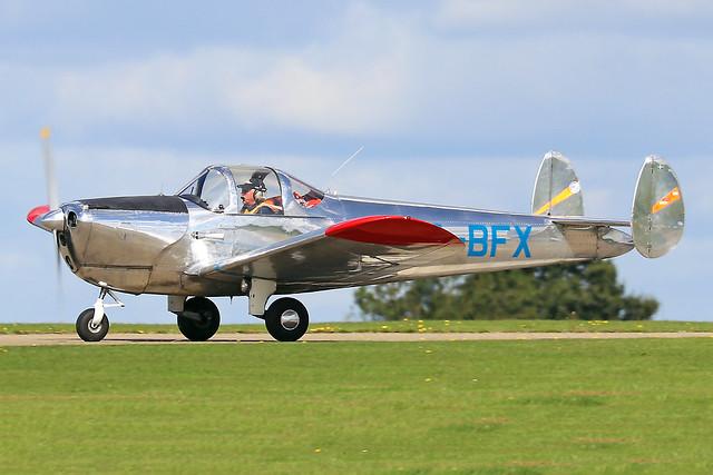 SE-BFX  -  Erco 415D Ercoupe c/n 4413  -  EGBK 1/9/19