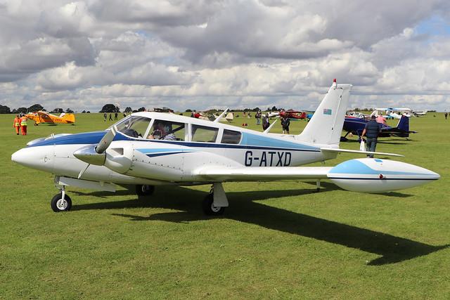G-ATXD  -  Piper PA-30-160 Twin Comanche B c/n 30-1166  -  EGBK 1/9/19