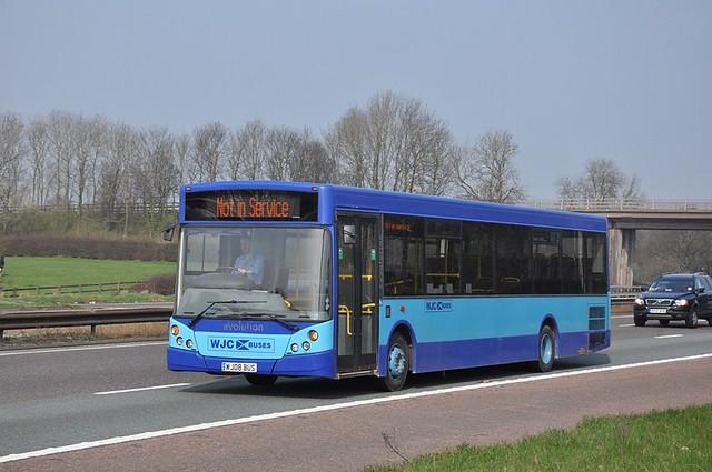 WJC Buses, Chapelhall WJ08 BUS