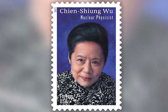 The Chien-Shiung Wu Commemorative Forever Stamp was issued on the International Day of Women and Girls in Science.