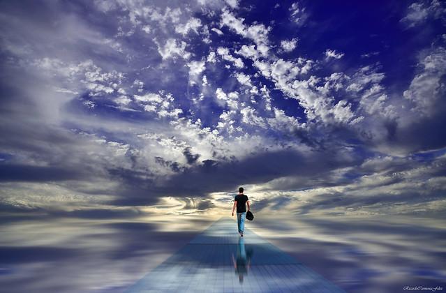 Crystal path in the sky - Camino de cristal en el cielo