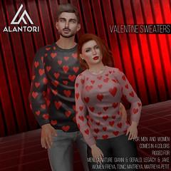 ALANTORI | Valentines Sweater