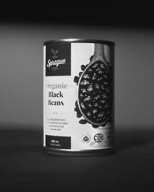 Black Beans - Film Nikon