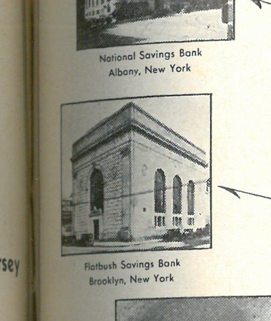 Svaings Bank Journal 1932 close up page 51