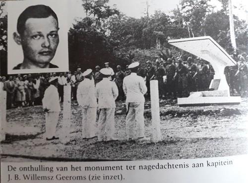 Monument Kapitein J.B.H. Willemsz Geerooms