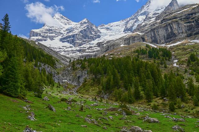 Below the Eiger Glacier, Biglenalp