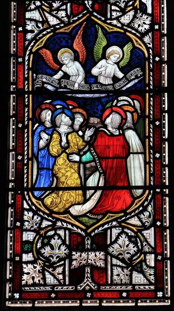 Stained Glass-St Michael & All Angels church-Hughenden Bucks-230319 (9)
