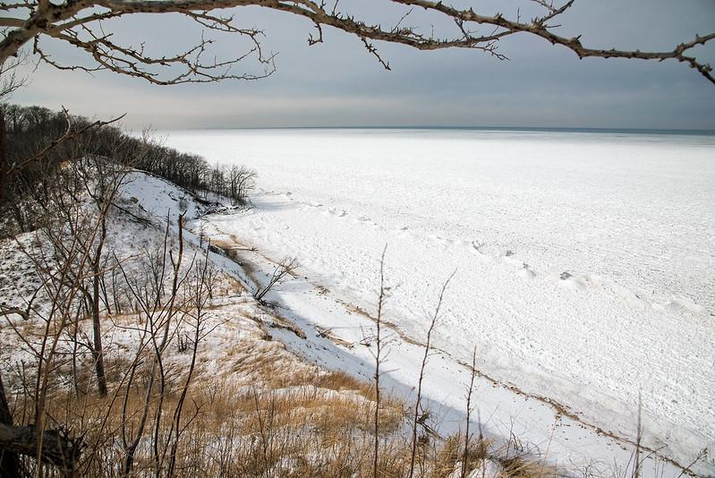 Lake Michigan From the Dune