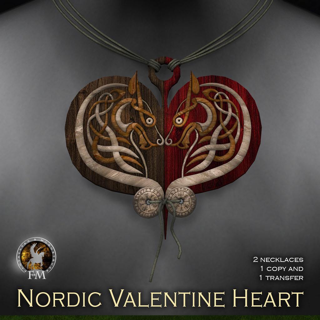 F&M * Nordic Valentine Heart