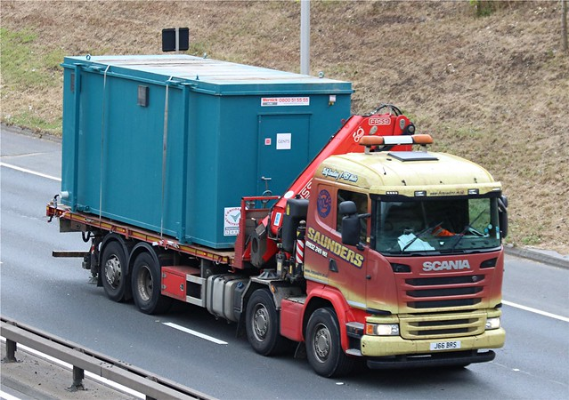 Saunders - J66 BRS(15) on the A102 19-06-20