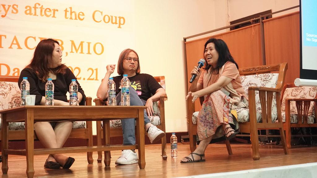 ผศ.ดร.นฤมล ทับจุมพล กรรมการและผู้ร่วมก่อตั้งคณะกรรมการรณรงค์เพื่อประชาธิปไตยในพม่า