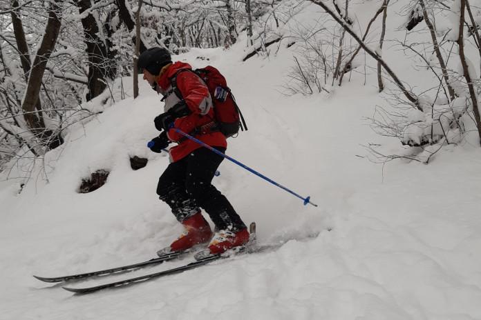 """""""Prvosjezd"""" Milešovky na lyžích"""