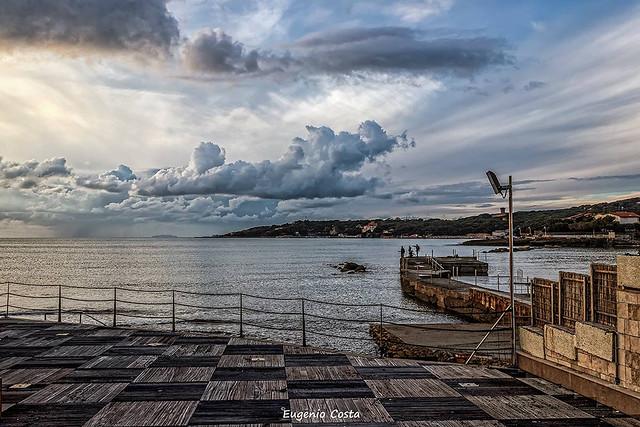 The sky of Caletta
