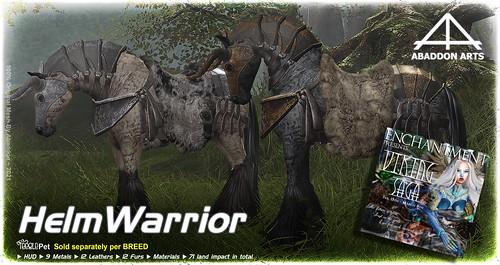 ABADDON ARTS - Helm Warrior Tack @ Enchantment Second Life Event