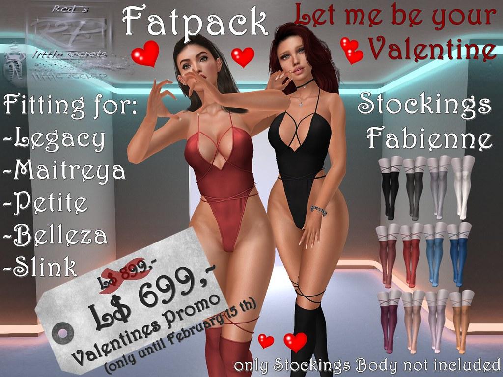 Fatpack Stockings Valentines Promo