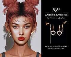 Loverine Earrings X Cravone - Velentine's Day Edition!!