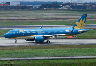 F-WWIA Airbus A320-272N Vietnam Airlines s/n 10439 - First flight * Toulouse Blagnac 2021 *