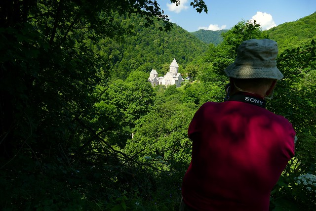 Monasterio de Haghartsin (el vuelo de las águilas voladoras). Armenia