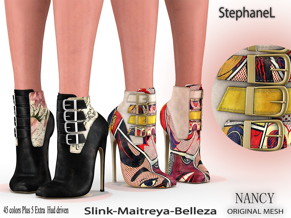 [StephaneL] NANCY SHOES FATPACK