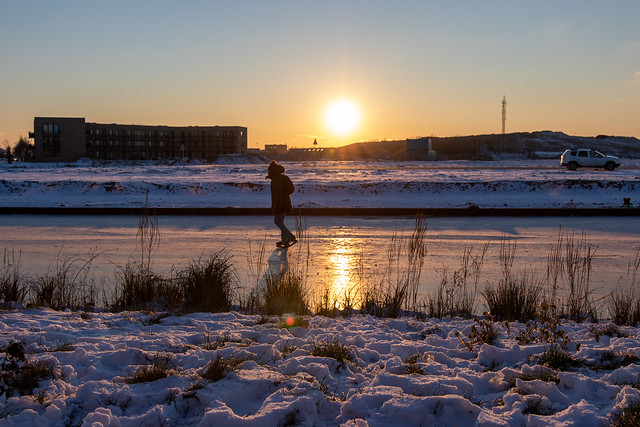 Winter in Vathorst