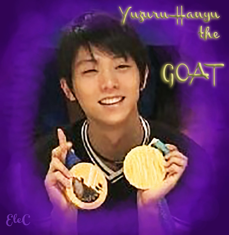Yuzuru Hanyu the only real GOAT