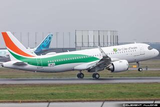 Air Côte d'Ivoire Airbus A320-251N cn 10197 F-WWIG // TU-TSX