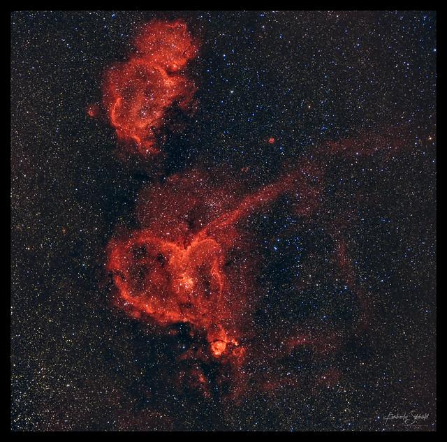Heart & Soul Nebulae