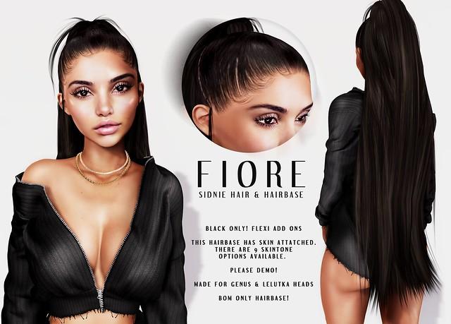 Fiore @ Access ~ Sidnie Hair & Hairbase