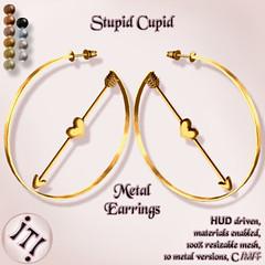 !IT! - Stupid Cupid Metal Earrings Image