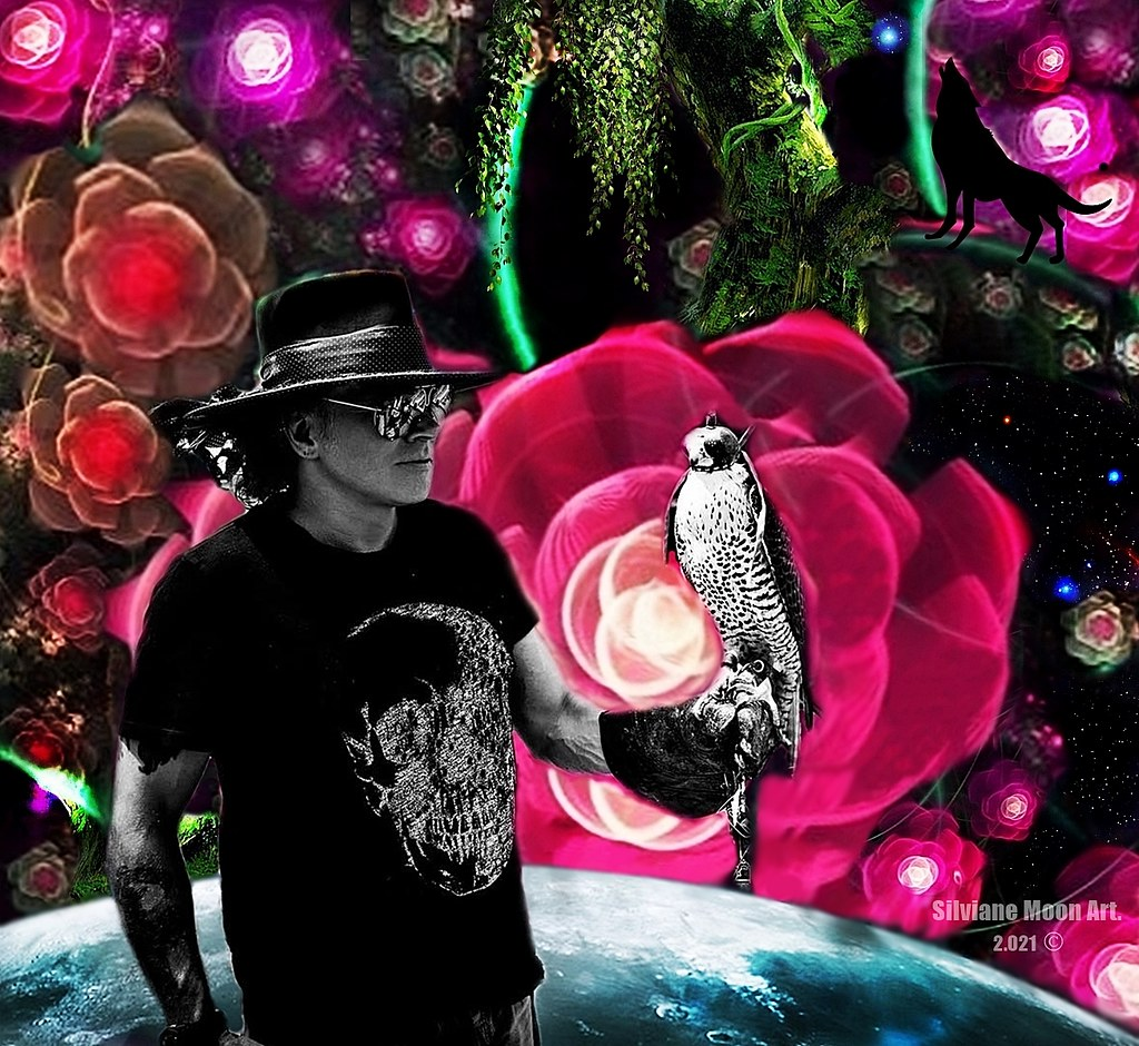 Axl Rose Art, by Silviane Moon.
