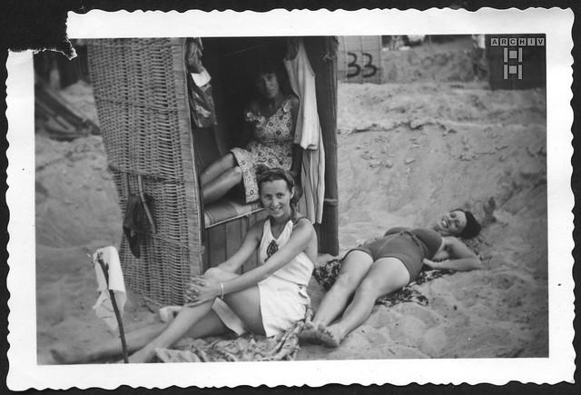 ArchivTappen2AAl2e759 Urlaub, Insel Poel, Fotoalbum, 1930-1948