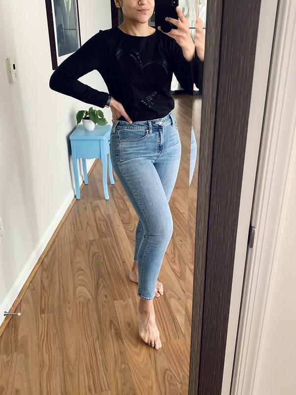 Skinny Jeans Edit Tanvii.com