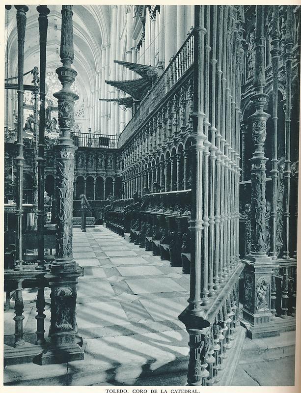 """Coro de la Catedral. Fotografía de Jean Dieuzaide, """"Yan"""""""
