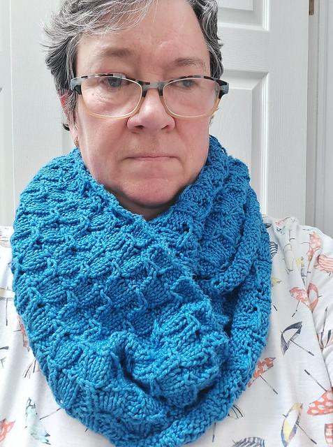 Sandi (sandima) used stash yarn for this cozy Beremeal by Laura Aylor.