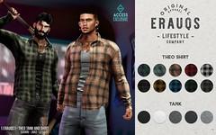 [ ERAUQS ] - Theo Tank and Shirt at ACCESS
