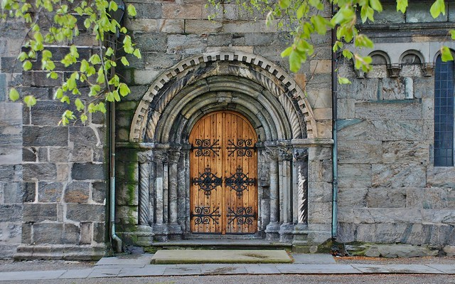 Bergen ( Noruega). Iglesia de Santa María.