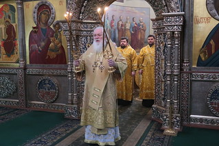 12.02.2021 | Божественная литургия в Иверском монастыре