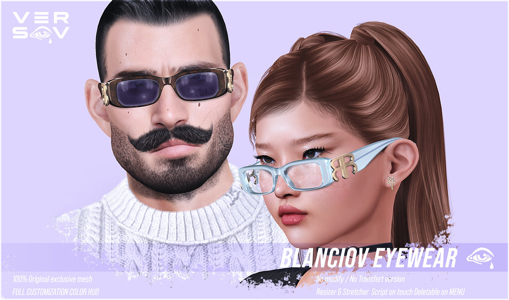 [ Versov // ]  BLANCIOV glasses available at Access event !