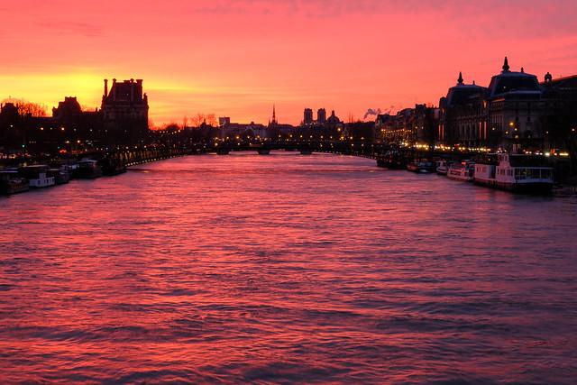 Paris - vue depuis le pont de la Concorde