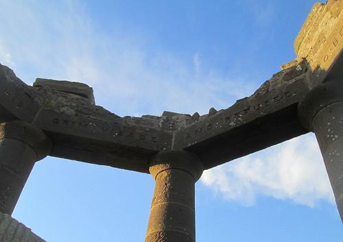 Part of Lintel Inscription, Stonehaven War Memorials