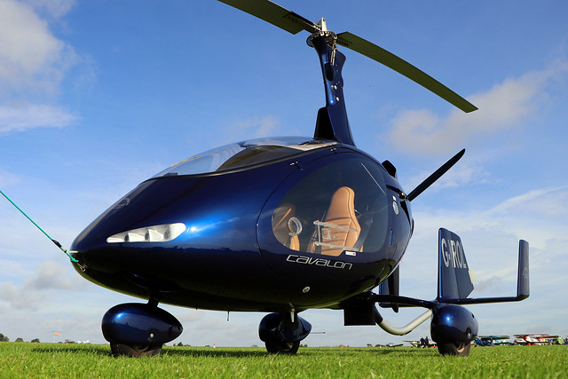 G-YROL  -  RotorSport UK Cavalon c/n RSUK/CVLN/009  -  EGBK 30/8/19