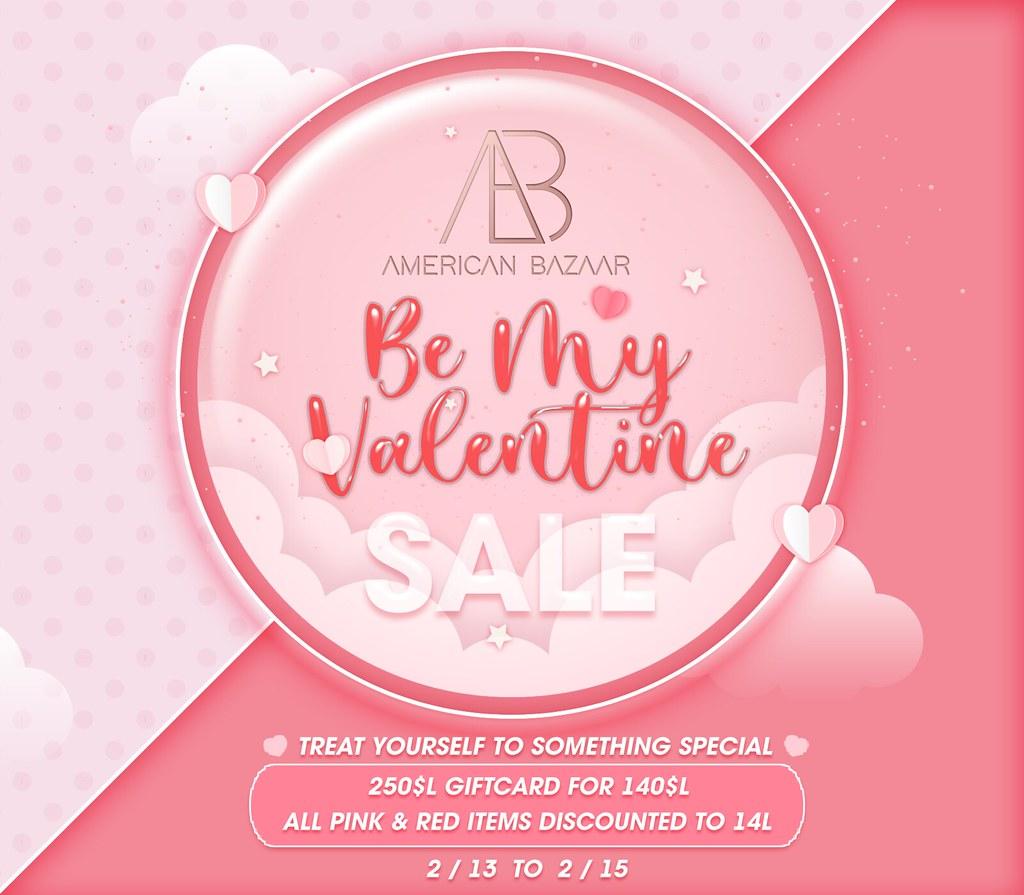 AB Valentines Sale 2021