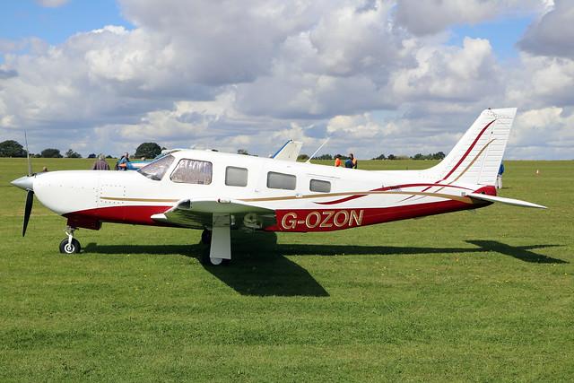 G-OZON  -  Piper PA-32R-301T Saratoga II TC c/n 32-57393  -  EGBK 1/9/19
