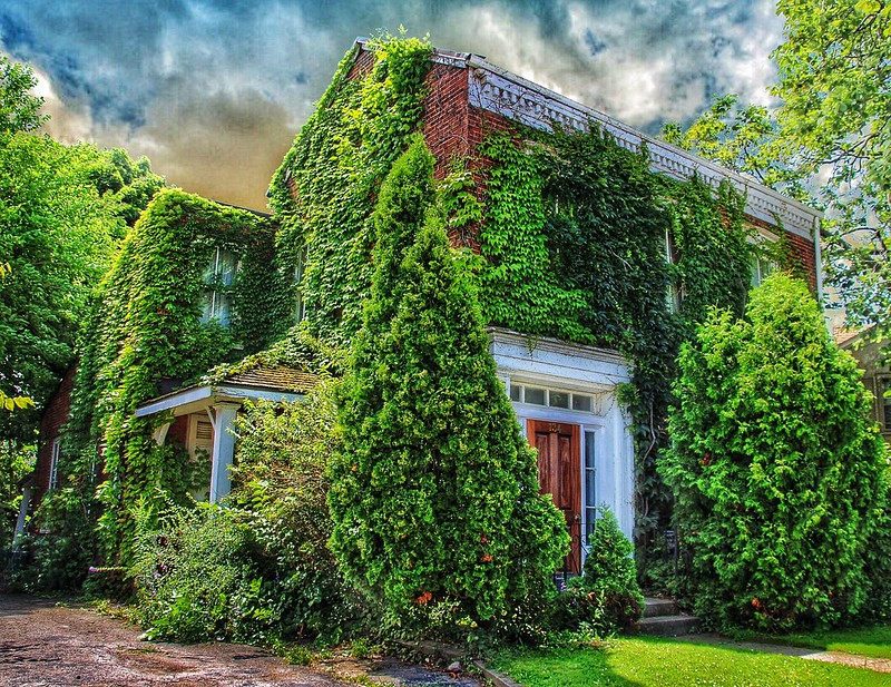St Catherines  Ontario - Canada - Old Town House - Architecture Italianate  will  Vines ..